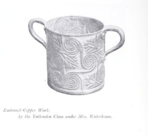 Yattendon copper tankard