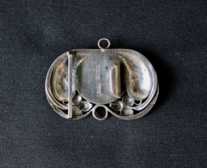 Bernard Cuzner silver buckle