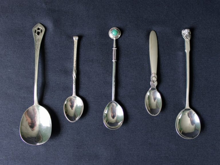 Arts & Crafts silver spoons