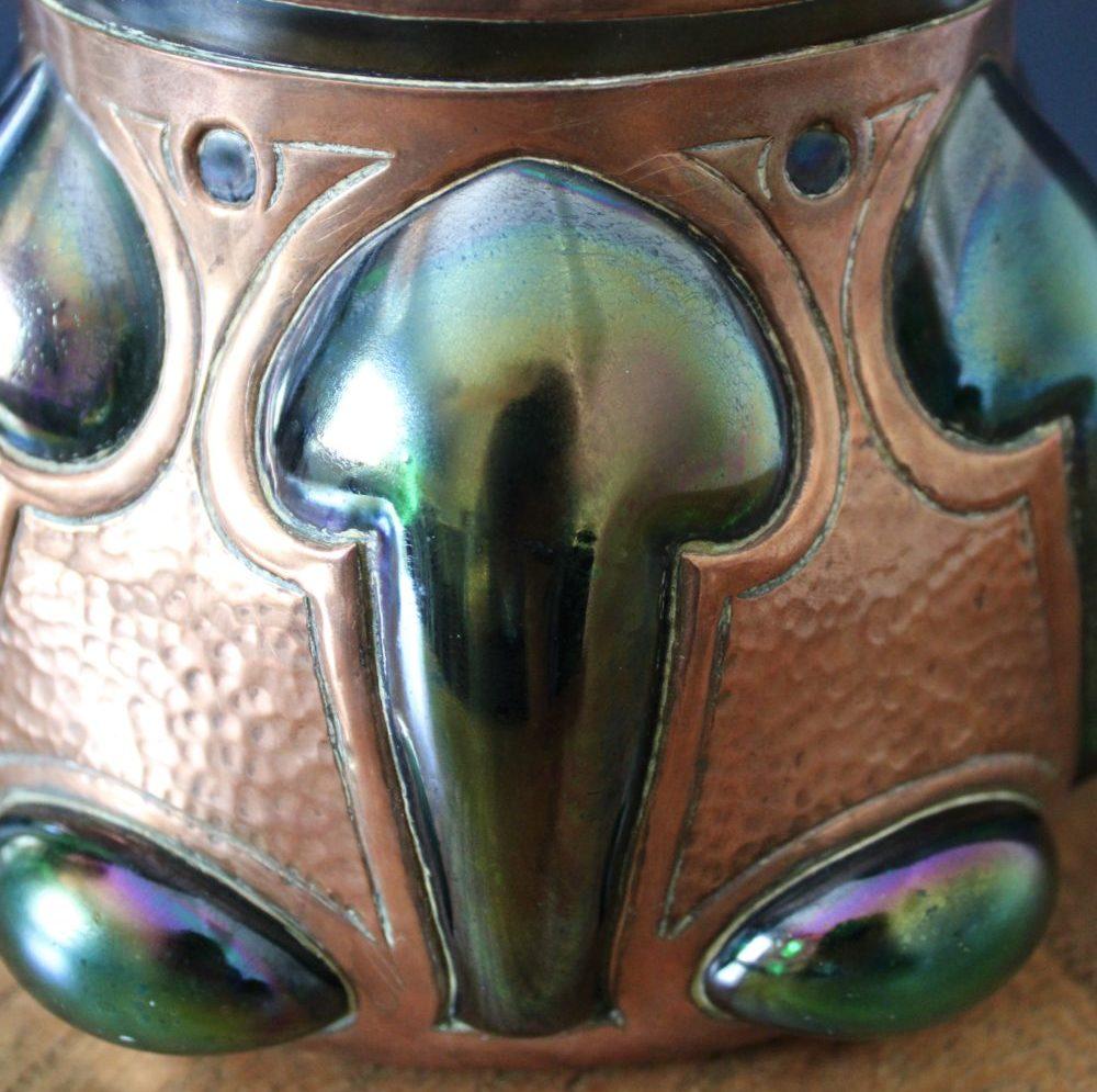 Faulkner Bronze Co biscuit barrel