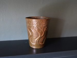 Yattendon copper goblet