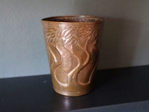 Yattendon copper goblet