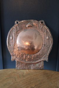Barnstaple Guild copper sconce