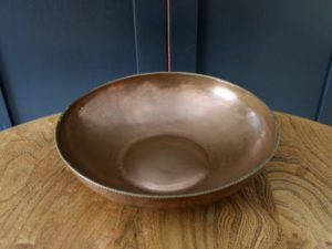 Hart and Huyshe copper bowl