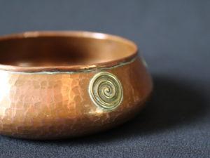 Francis Cargeeg copper bowl