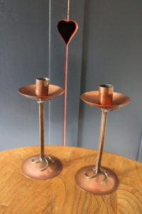 Potteries Guild of Cripples candlestick