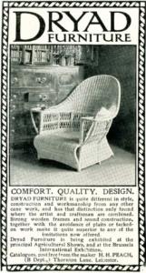 Dryad Furniture advert