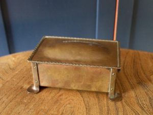 Dryad Metal Works cigarette box