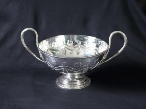 Duchess of Sutherland Cripples Guild two handled bowl