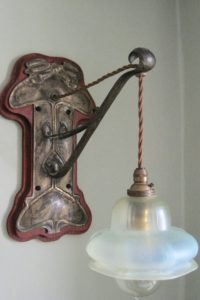 Faulkner Bronze Co brass wall light