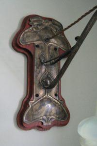 Faulkner Bronze Co brass wall light