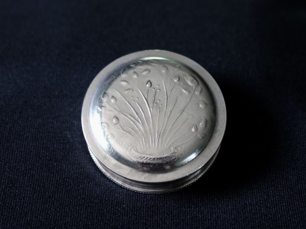 Richard Llewellyn Rathbone silver pill box