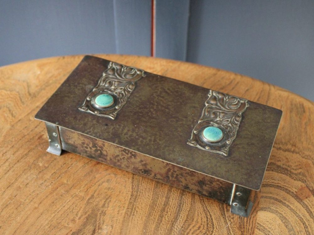 Jesson Birkett Co brass box