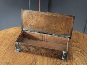 Jesson Birkett Co brass box