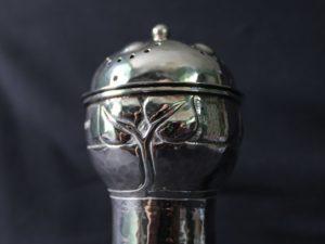 A E Jones silver sugar dredger