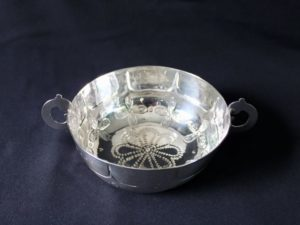 Duchess of Sutherland Cripples Guild silver bowl
