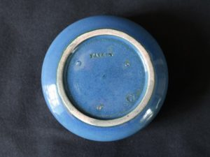 Ruskin Pottery inkwell