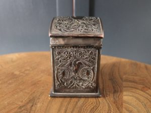 Keswick School tea caddy