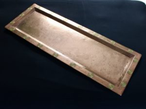 Francis Cargeeg copper tray