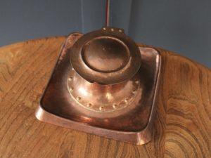 Richard Llewellyn Rathbone copper inkwell