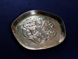 Alexander Ritchie brass dish