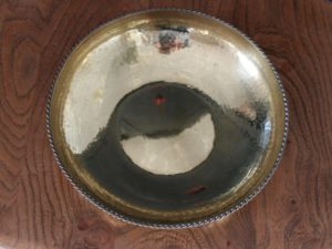 Hart and Huyshe brass bowl