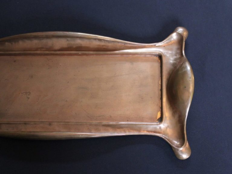 Norman and Ernest Spittle copper tray