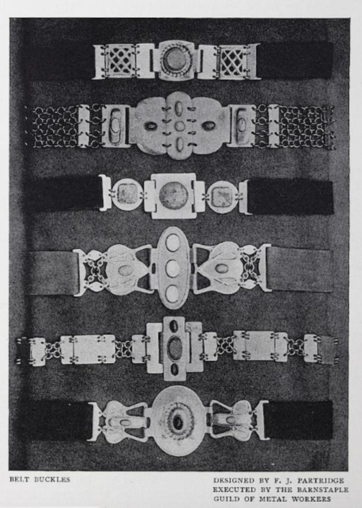 Barnstaple Guild of Metalwork copper belt