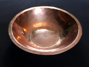 Gordon Russell copper bowl