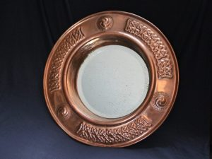 Francis Cargeeg copper mirror