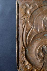 Newton School copper sconce