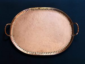 Newton School copper tray