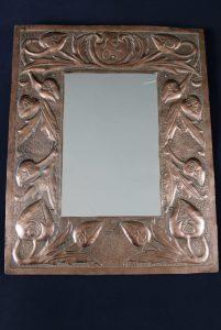 Newton School copper mirror