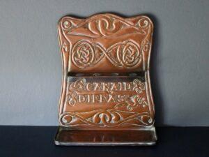 Alexander Ritchie copper pipe rack