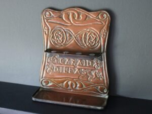 Alexander Ritchie copper pipe rack