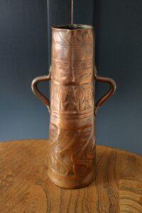 Yattendon copper vase