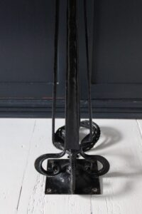 Norman & Ernest Spittle newel post lamp
