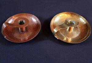 Gordon Russell brass chamberstick