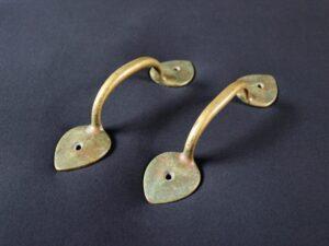 Voysey brass handles