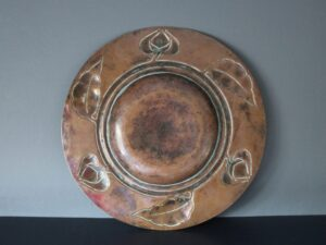 Potteries Guild of Cripples copper charger