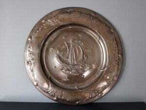 Faulkner Bronze charger
