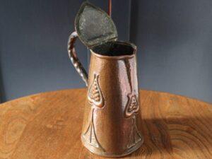 J & F Pool copper jug